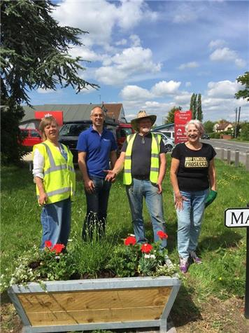 - New Planters Add Some Roadside Colour